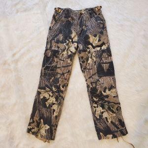 Cabela's Youth Camo Cargo Pants Size 8